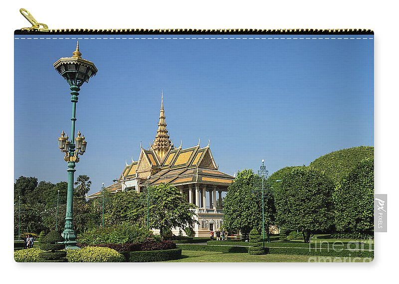Cambodia Carry-all Pouch featuring the photograph Royal Palace 02 by Rick Piper Photography