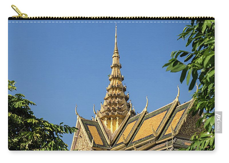 Cambodia Carry-all Pouch featuring the photograph Royal Palace 03 by Rick Piper Photography