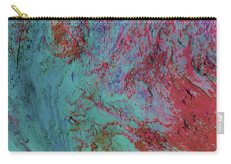 Abstract Carry-all Pouch featuring the photograph Rubies by Dorothy Hilde