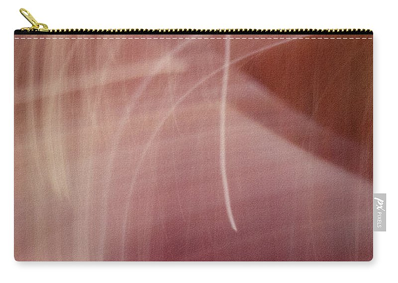 Abstract Carry-all Pouch featuring the photograph Ruby by Dorothy Hilde