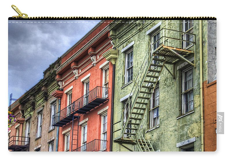 Rue Carry-all Pouch featuring the photograph Rue Bienville by Tammy Wetzel
