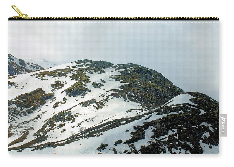 Ruggedterrain Carry-all Pouch featuring the photograph Rugged Terrain by Barry King