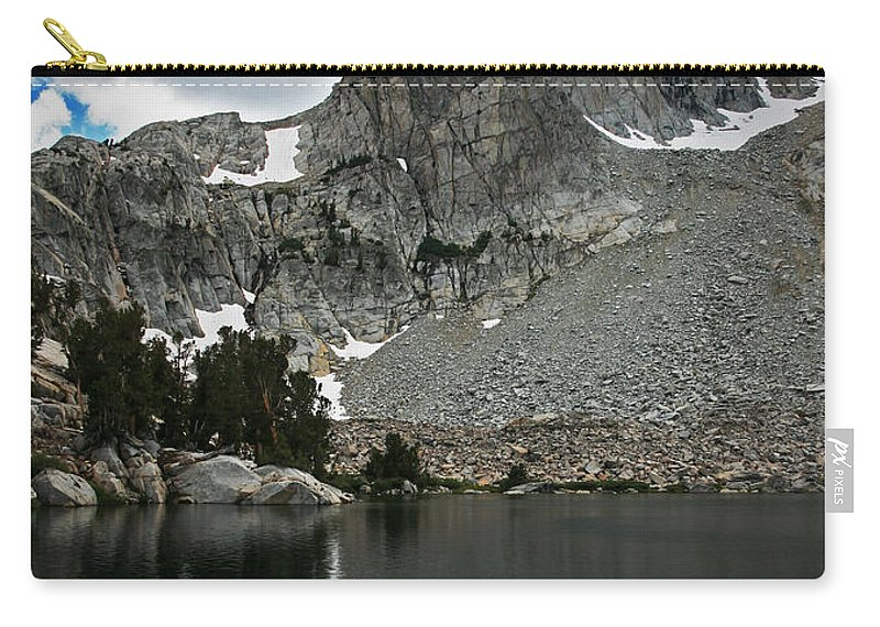 Carry-all Pouch featuring the photograph Rugged Territory by Chris Brannen