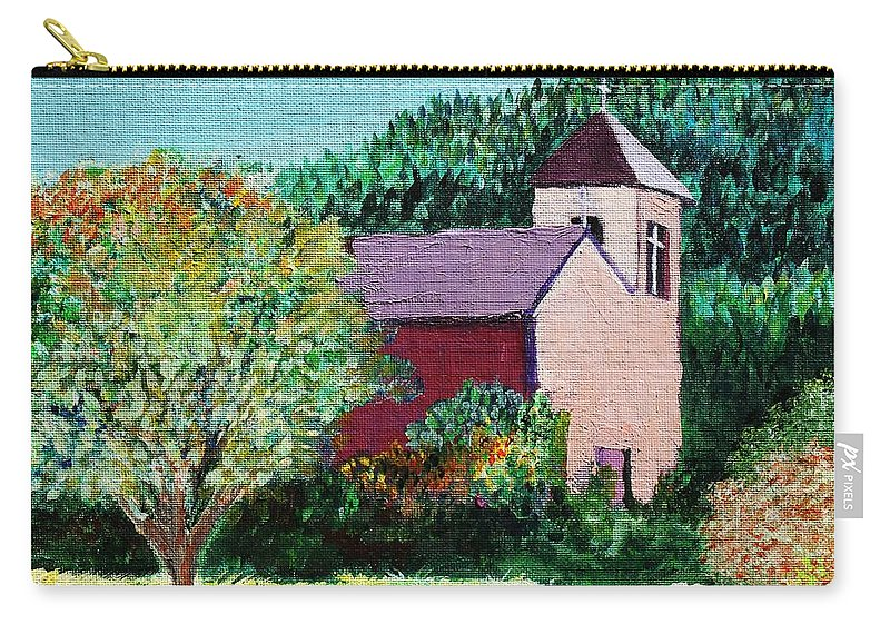Church Carry-all Pouch featuring the painting Ruidoso by Melinda Etzold