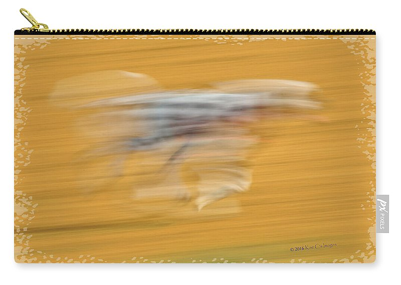 Dog Carry-all Pouch featuring the photograph Running At The Dog Park 2 by Kae Cheatham