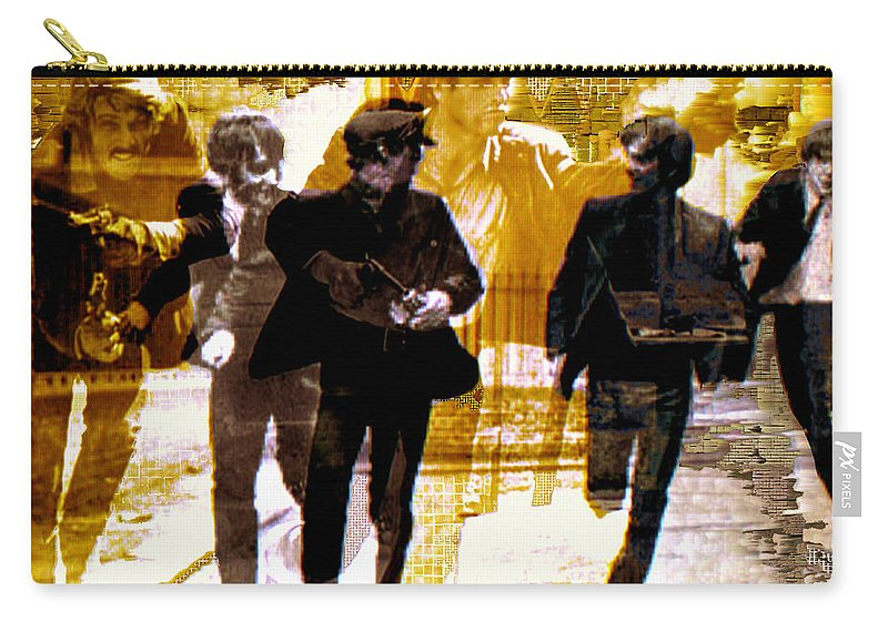 Beatles Carry-all Pouch featuring the photograph Running Under the Gun by Seth Weaver