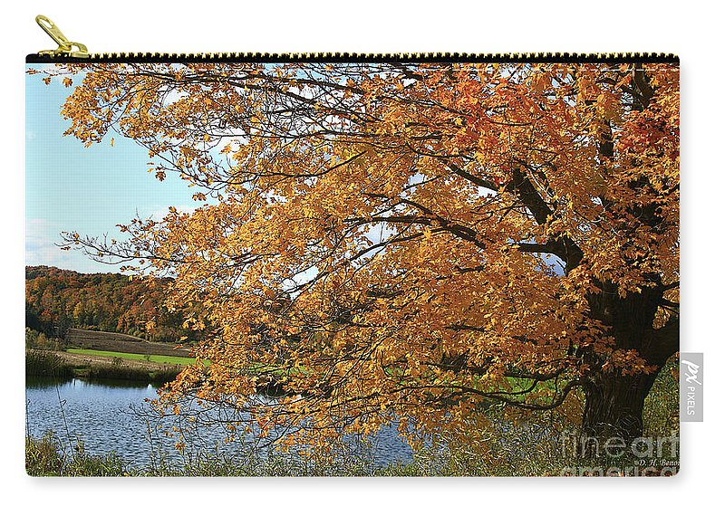 Rural Carry-all Pouch featuring the photograph Rural Autumn Country Beauty by Deborah Benoit