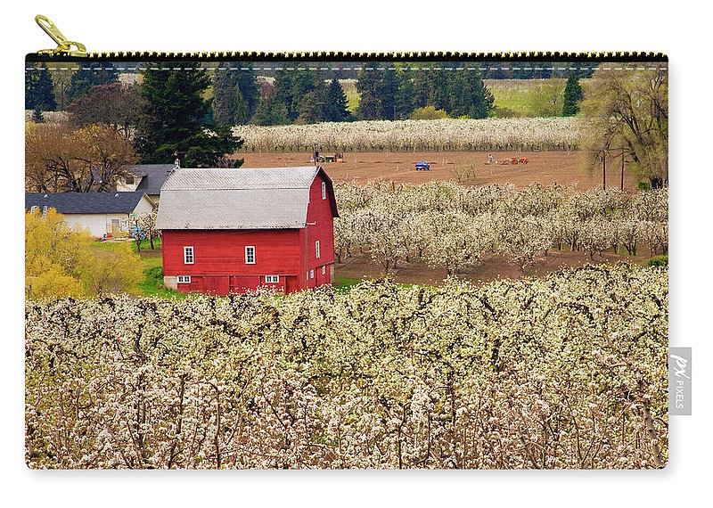 Barn Carry-all Pouch featuring the photograph Rural Color by Mike Dawson