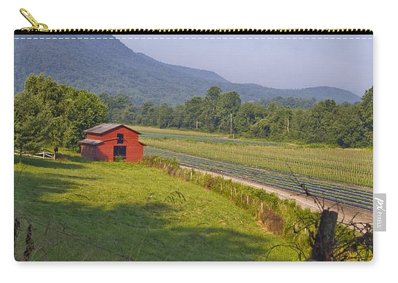 Rural Carry-all Pouch featuring the photograph Rural Nc Needs Preservation. by Robert Ponzoni