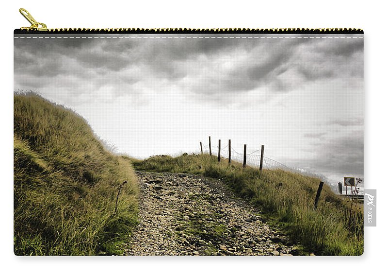 Abstract Carry-all Pouch featuring the photograph Rural Path by Kelly Jenkins
