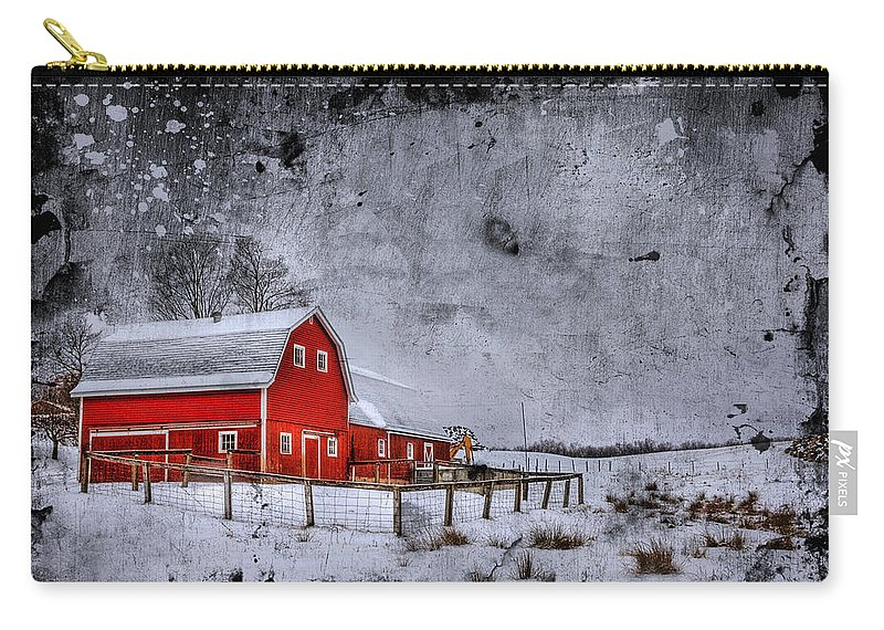Barn Carry-all Pouch featuring the photograph Rural Textures by Evelina Kremsdorf
