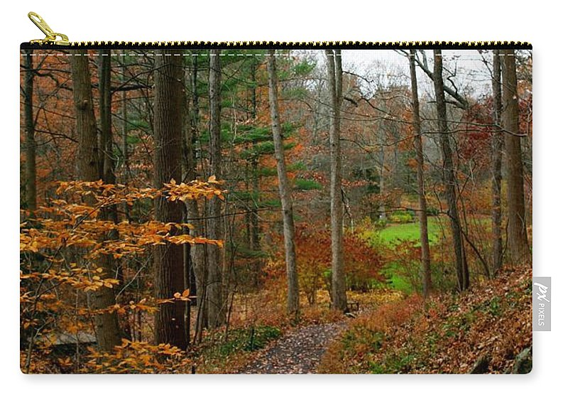 Autumn Carry-all Pouch featuring the photograph Russet Days by Living Color Photography Lorraine Lynch