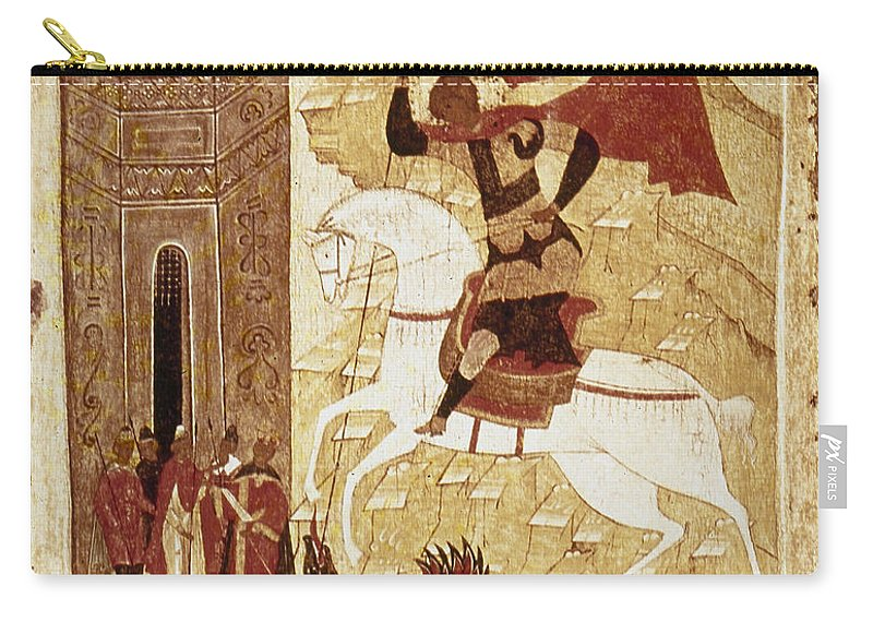 16th Century Carry-all Pouch featuring the photograph Russia: Icon by Granger