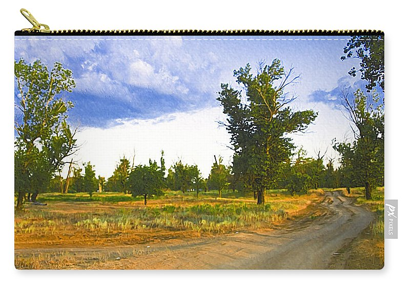 Art Carry-all Pouch featuring the photograph Russia539 by Svetlana Sewell