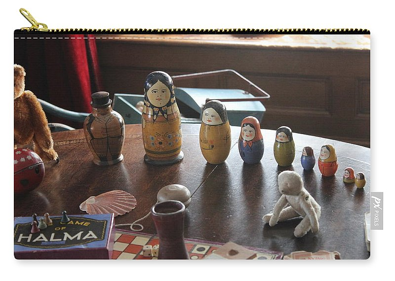 Victorian Carry-all Pouch featuring the photograph Russian Dolls by Lauri Novak