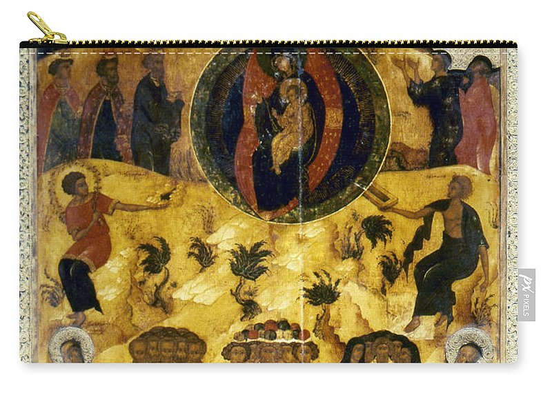 16th Century Carry-all Pouch featuring the photograph Russian Icon by Granger