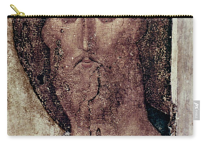 15th Century Carry-all Pouch featuring the photograph Russian Icons: The Saviour by Granger