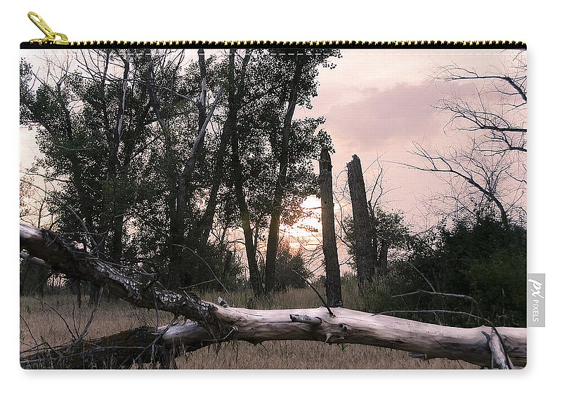 Art Carry-all Pouch featuring the photograph Russian Landscape by Svetlana Sewell
