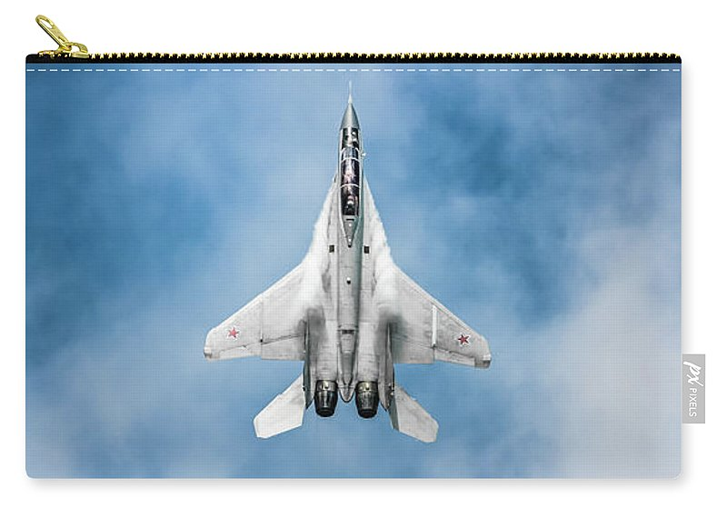 Army Carry-all Pouch featuring the photograph Russian Mig-35 Fulcrum 4 by Rastislav Margus
