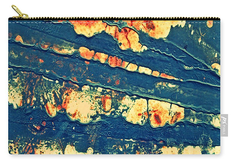 Macro Carry-all Pouch featuring the photograph Rust And Lace by Tara Turner