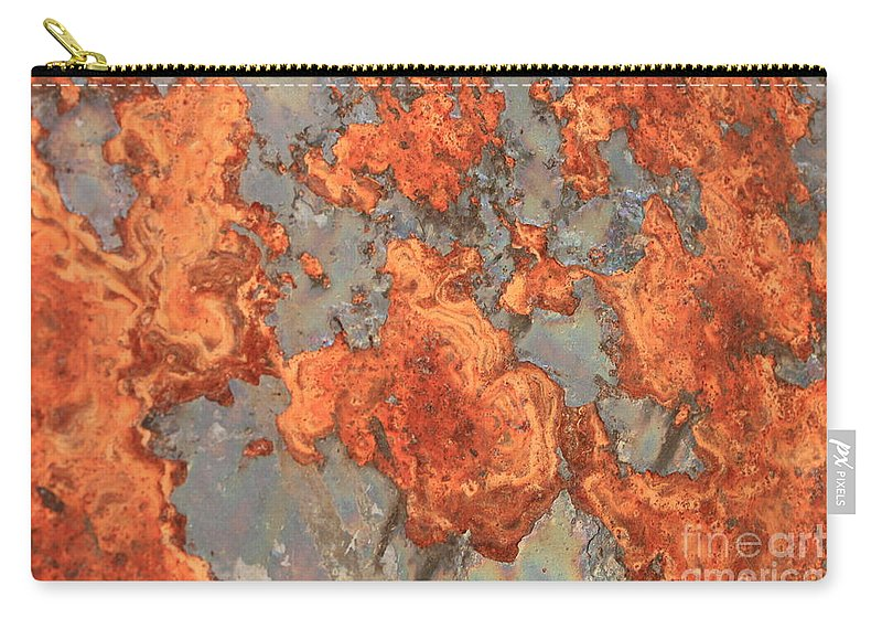 Rust Carry-all Pouch featuring the photograph Rust Art by Carol Groenen