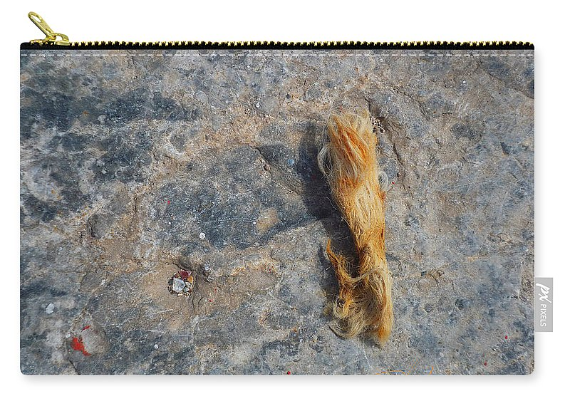 Fishing Net Carry-all Pouch featuring the photograph Rust In The Dust by Charles Stuart