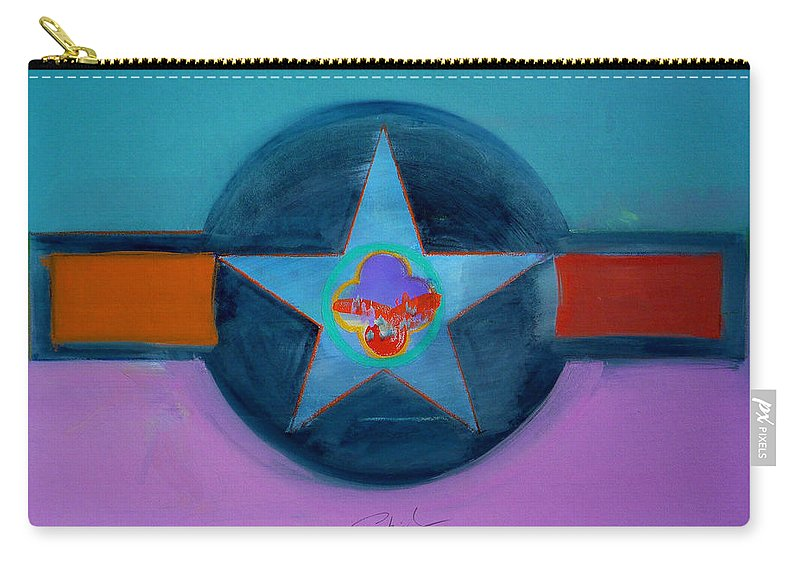 Star Carry-all Pouch featuring the painting Rust Or Bust by Charles Stuart