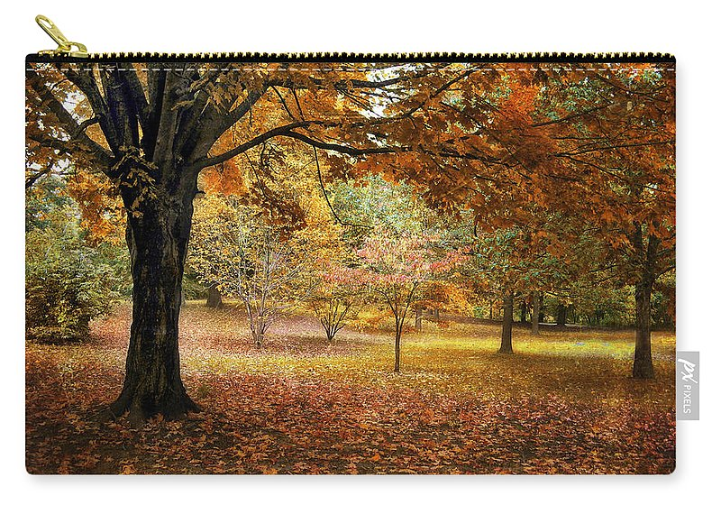 Autumn Carry-all Pouch featuring the photograph Rustic Autumn by Jessica Jenney