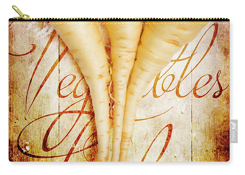 Farm Carry-all Pouch featuring the photograph Rustic Farm Kitchen Tin Sign by Jorgo Photography - Wall Art Gallery