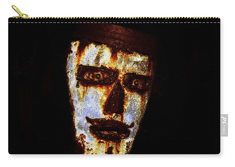 Rust Carry-all Pouch featuring the painting Rusty by David Lee Thompson