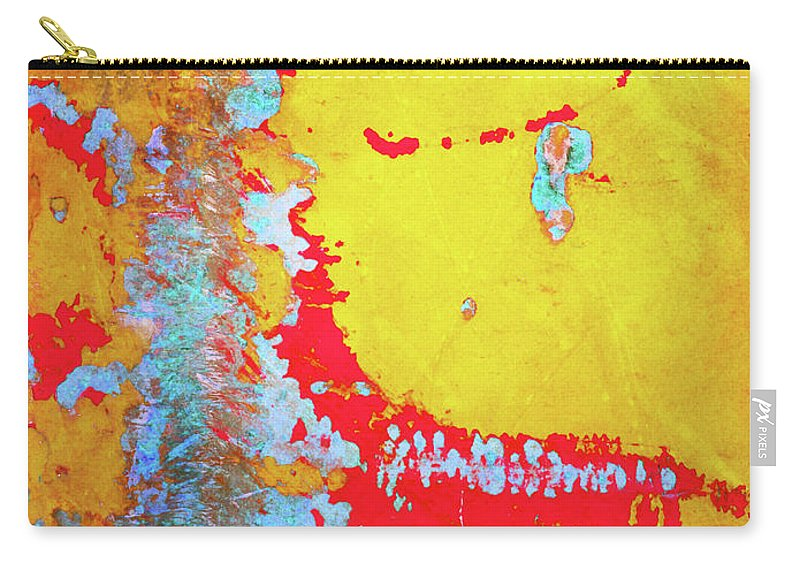 Abstract Carry-all Pouch featuring the photograph Rusty Expressions by Tara Turner