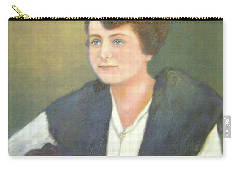 Grandma Carry-all Pouch featuring the painting Ruth by Jane Honn