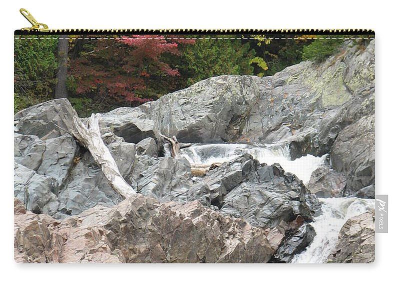 River Carry-all Pouch featuring the photograph S Curve by Kelly Mezzapelle
