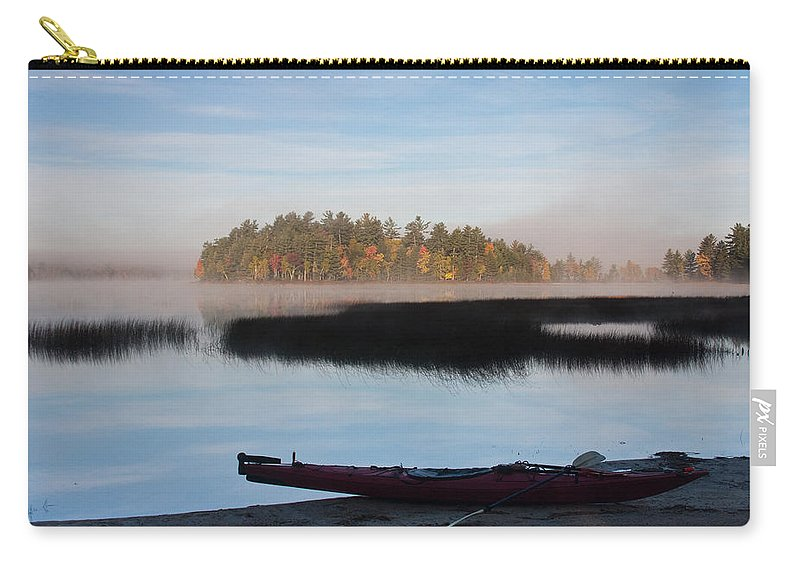 Landscape Carry-all Pouch featuring the photograph Sabao Morning by Brent L Ander