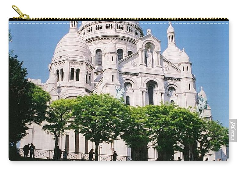 Church Carry-all Pouch featuring the photograph Sacre Coeur by Nadine Rippelmeyer