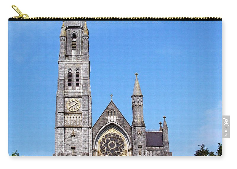 Ireland Carry-all Pouch featuring the photograph Sacred Heart Church Roscommon Ireland by Teresa Mucha