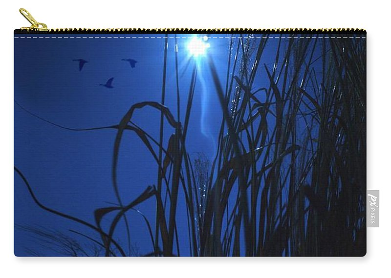 Bright Carry-all Pouch featuring the photograph Sacred Moon... by Arthur Miller