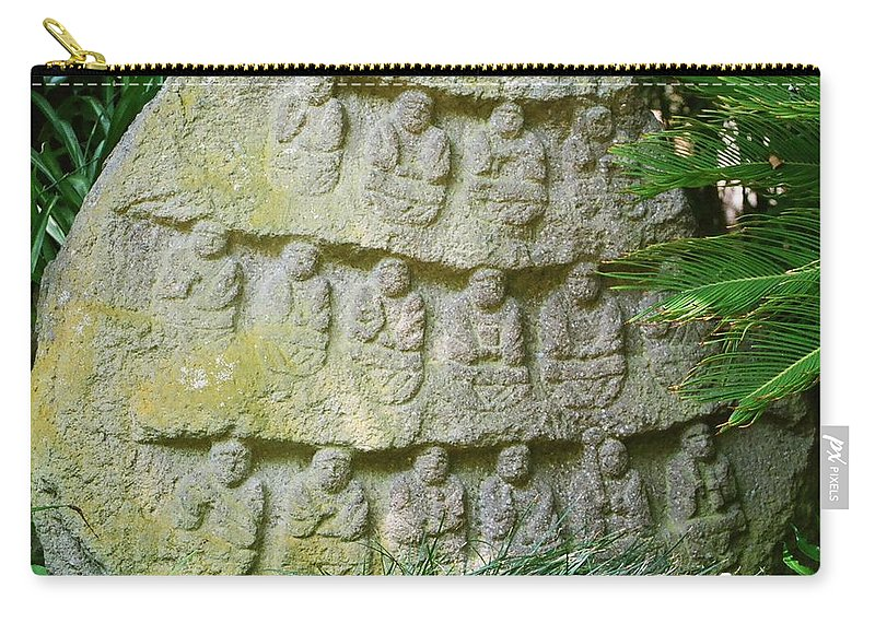 Stone Carry-all Pouch featuring the photograph Sacred Stone by Dean Triolo