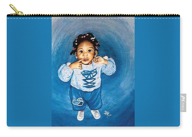 Child Carry-all Pouch featuring the pastel Sadie by Gale Cochran-Smith