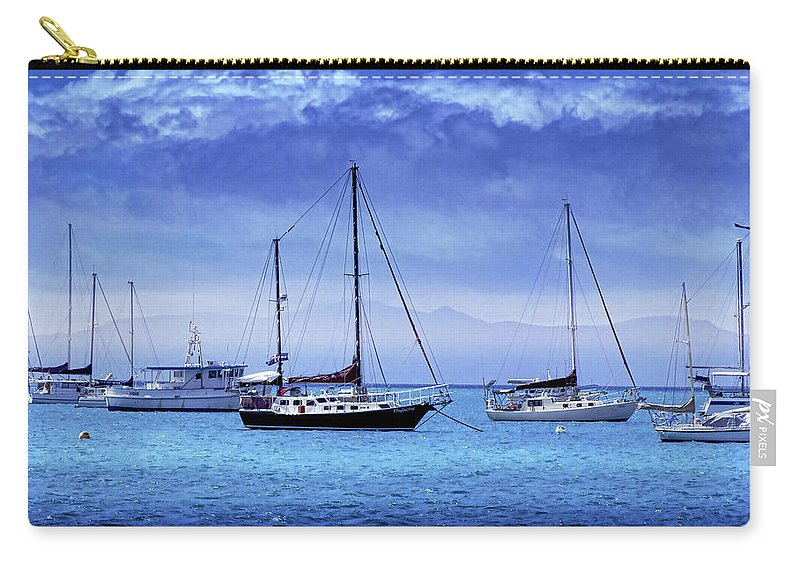 Landscapes Carry-all Pouch featuring the photograph Safe Harbor by Holly Kempe