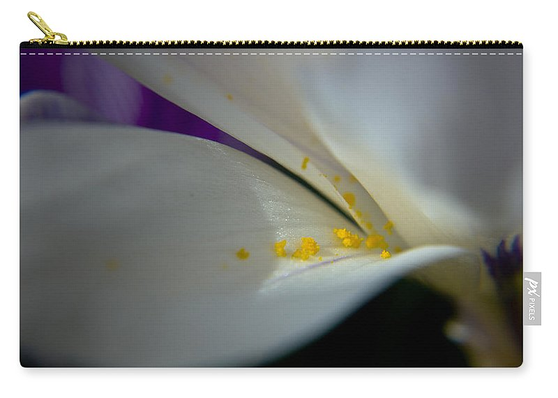 Safron Carry-all Pouch featuring the photograph Safron by Teresa Mucha