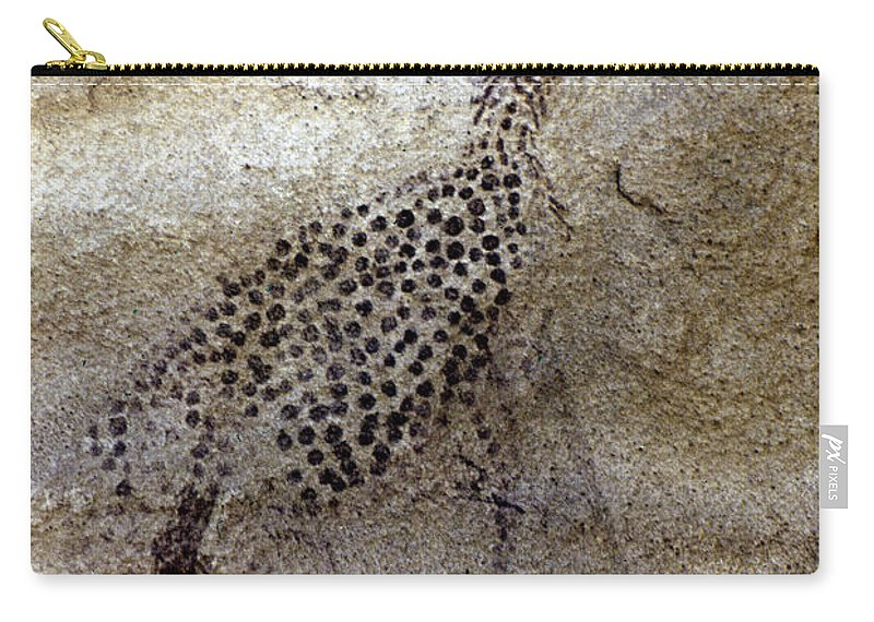 African Carry-all Pouch featuring the photograph Saharan Rock Painting by Granger