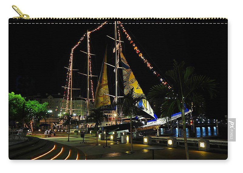Sail Tampa Bay 2010 Carry-all Pouch featuring the photograph Sail Tampa Bay 2010 by David Lee Thompson
