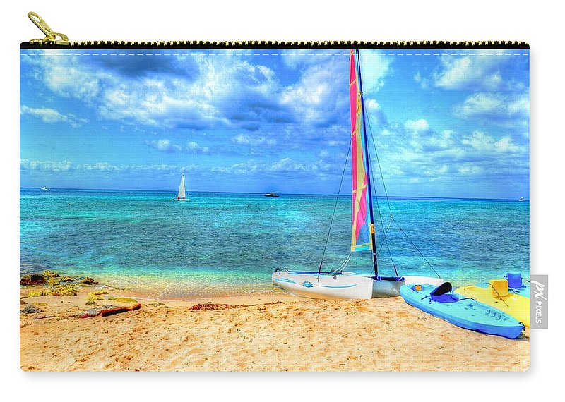 Ocean Carry-all Pouch featuring the photograph Sailaway by Debbi Granruth
