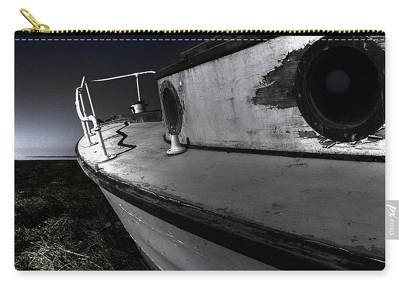 Sailing Carry-all Pouch featuring the photograph Sailing Land by Kelly Jade King
