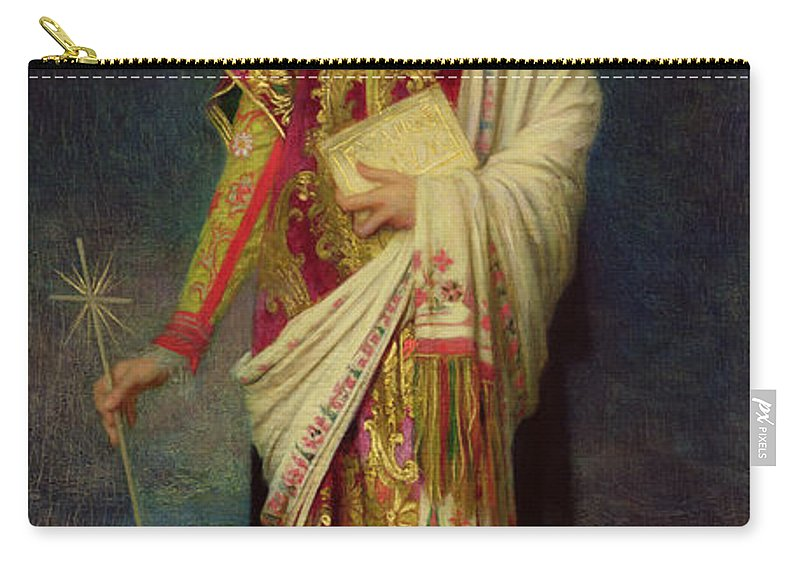 Margaret Carry-all Pouch featuring the painting Saint Margaret Slaying The Dragon by Antoine Auguste Ernest Herbert