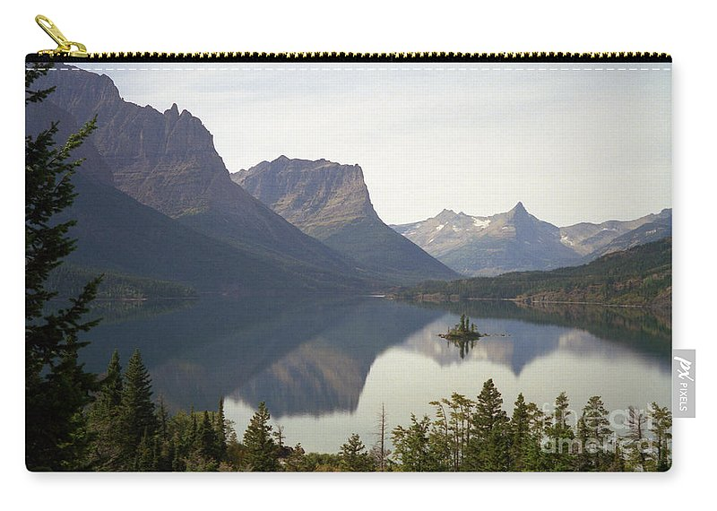 Lake Carry-all Pouch featuring the photograph Saint Marys Lake by Richard Rizzo