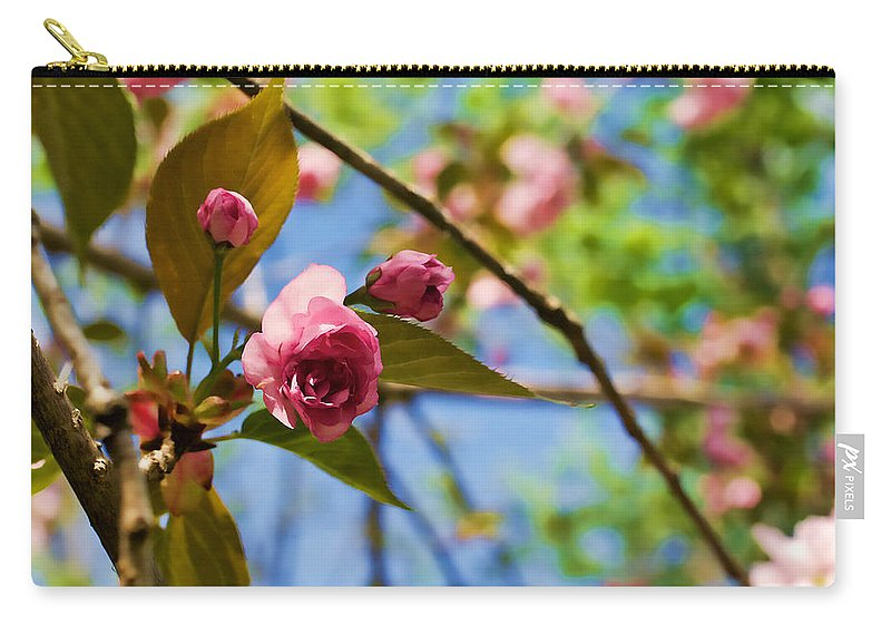 Spring Carry-all Pouch featuring the photograph Sakura by Mike Smale