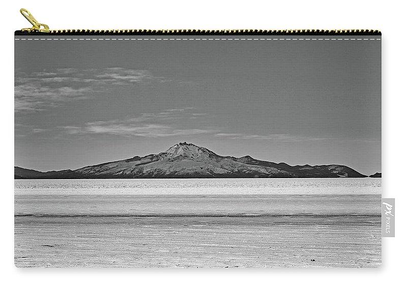 Salar De Uyuni Carry-all Pouch featuring the photograph Salar De Uyuni No. 222-2 by Sandy Taylor