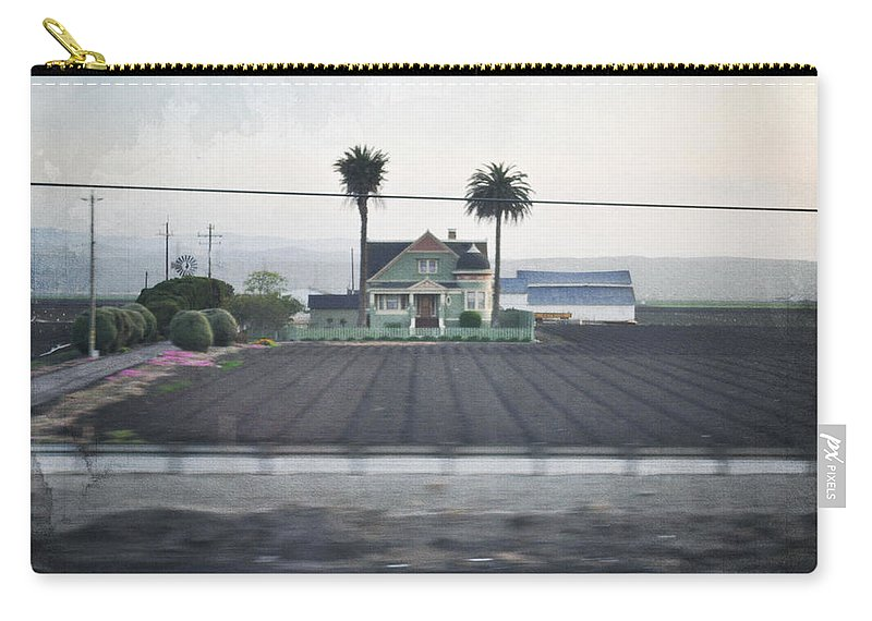 Salinas Valley Carry-all Pouch featuring the photograph Salinas Valley Victorian Mansion by Kyle Hanson